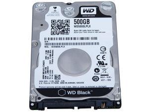 "HDD 2.5"" 500GB SATAIII WD BLACK"