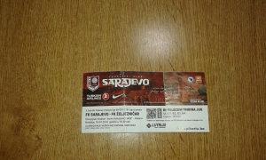 Ulaznica Sarajevo - FK Željezničar