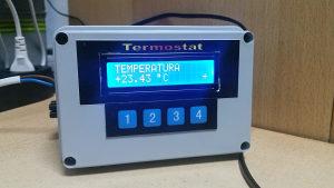 Digitalni termostat za inkubator