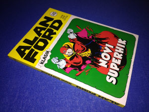 Alan Ford klasik broj 143 Novi Superhik