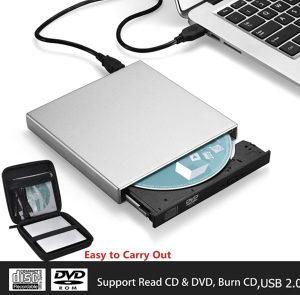 EXTERNI CD DVD ROM čitač player za laptop/kompjutrer PC