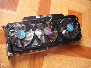Nvidia Gigabyte Windforce GTX 770