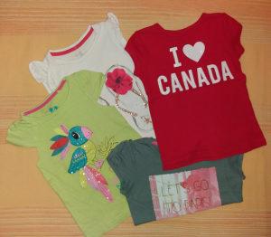Majice za djevojcice vel 3 do 4