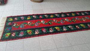 Cilim serdzada rucni rad bosanski tkani vuneni