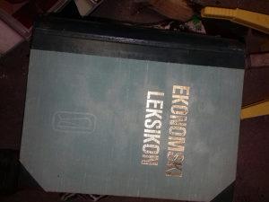 Knjiga Ekonomski leksikon