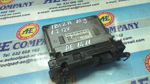 Elektronika Ibiza 1.2 12V 10g 03E906023AA AE 1411