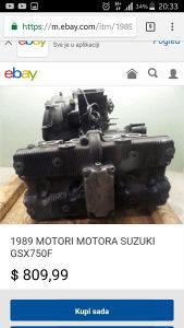 Suzuki GSX750F MASINA
