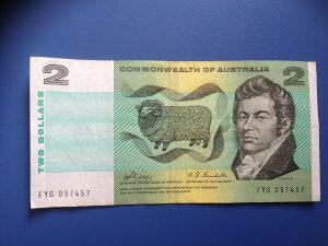 Novčanice AUSTRALIJA