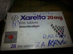 Xarelto tablete za srce