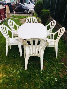 Stol i 6 stolica - vrtni namjestaj