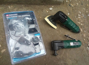 Parkside multifunkcionalni alat pneumatski NOVO