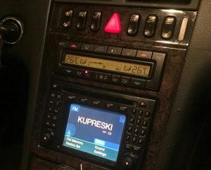 Radio Navigacija Mercedes w210 okas