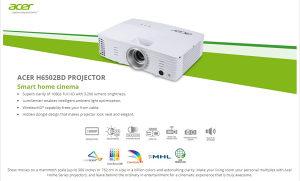 AKCIJA: ACER projektor H6502BD Full HD 1920x1080