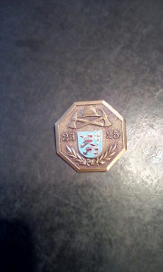 Medalja vatrogasna jubilarna