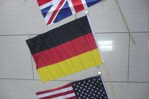 Zastava zastavica njemačka 3 / flag germany 3
