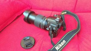 Fotoaparat Nikon D60, objektiv 18-105 VR AF