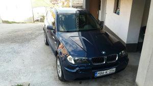 BMW X3 3.0 D MOZE ZAMJENA
