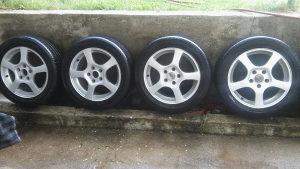Aluminijske felge 16 5x112 zimske gume