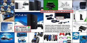 Playstation 4 SLIM/PRO 500GB i 1TB *NOVO i KORIŠTENO* 3
