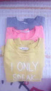 3 majice hm i kappahl