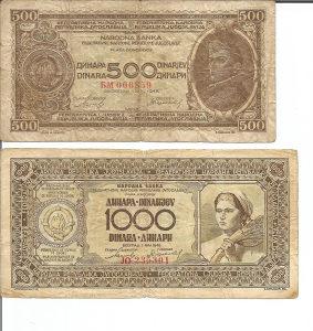 Stari novac narodne banke FNRJ