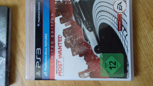 Most wanted limited edition ps3