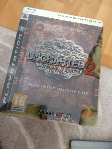 Uncharted 2 steel box limited ps3