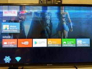 Led smart tv sony 46'