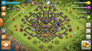Clash of Clans TH9 Account