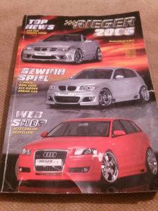 Auto magazin RIEGER HAUPKATALOG 2005