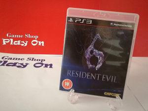Resident Evil 6 (Playstation 3 - PS3)