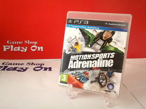 MotionSports Adrenaline (PS3) Move Igra