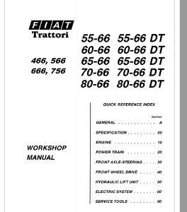 Fiat 55-66 60-66 65-66 70-66 80-66 (DT) priručnik