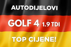 VW Golf 4 - Diskovi i pločice top cijena!