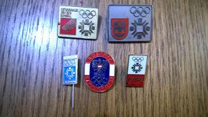 Olimpijske znacke Vucko - Sarajevo 84