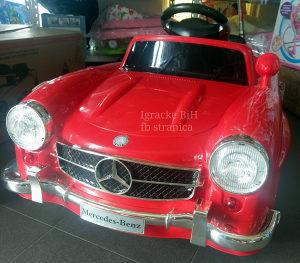 Auto na akumulator autic Mercedes 300SL R/C NOVO!