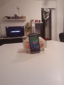 HTC M9 Crna Silikon Maska