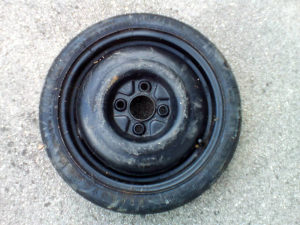 rezervna guma Golf 2