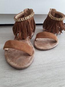 Sandale smeđe
