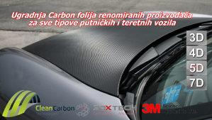 Prodaja i ugradnja Carbon folija 3D/4D/5D