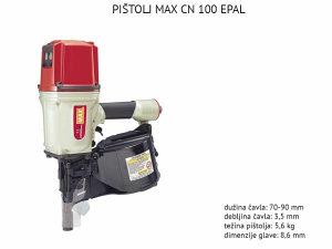PPISTOLJI PNEUMATSKI EPAL CN100MAX