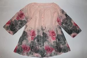 Tanka tunika sa ružama