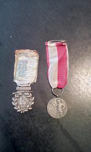 Medalje srebrene stare