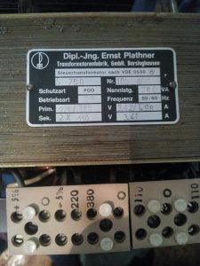 Transformator 380v na 220v 110v