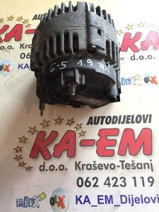 Alternator VW Golf 5 1.9 TDI KA EM