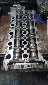 Glava motora volvo 2.0D 2.4D D3,D4,D5