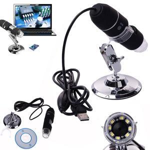 USB digitalni mikroskop x1000 (2MP) Metalni nosač