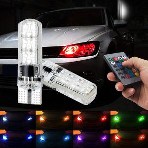 2 X RGB T10 LED-ubodna sijalica-pozicije-unutrašnjost