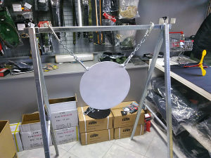 Izrada nosača i META od Hardox 500 ploča