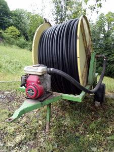 tifon navodnjavanje sa motorom i pumpom